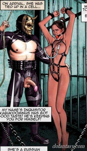 Enslaved hottie cries captivity
