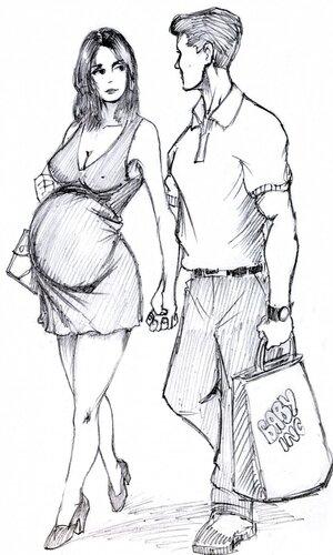 Black man's creampie gets white wife pregnant