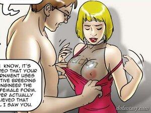 Busty blonde slut undressed