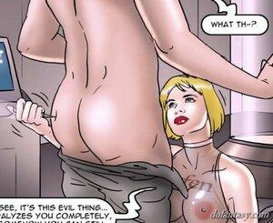 Serpentine busty blonde injection