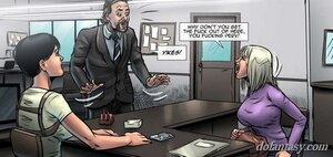 Unpleasant man interrupts witness