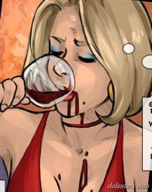 Big tits blonde hungry
