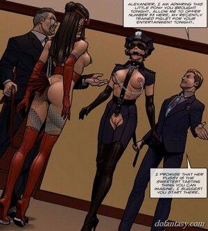 Big tits horse-dressed gagged