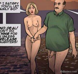 Blonde submissive milf jailer