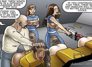 Slutty brunettes instructor train