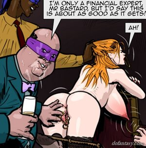 Ginger busty submissive presents