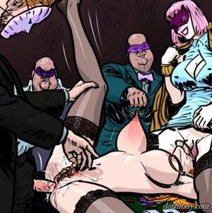 Big tits redhead slave