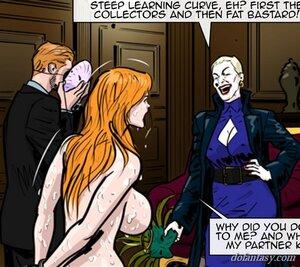 Big tits ginger slave