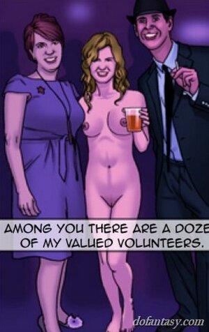 Undressed big tits brunette