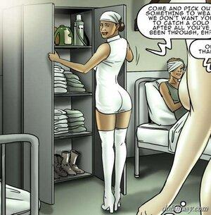 Busty blonde finds hospital