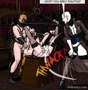 Ginger female slave deep