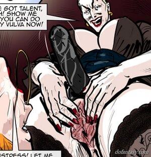 Ginger female slave ass-fucked