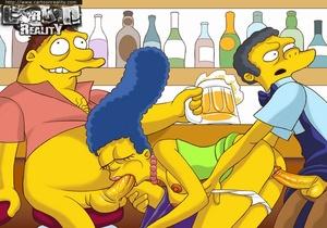 Sexy comics. Simpsons try hardcore.