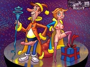 Sexy comics. Holiday fucking.