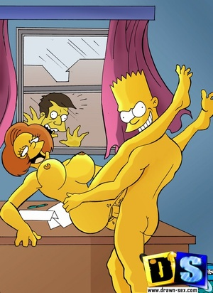 Animation porn. The Simpsons pussies.